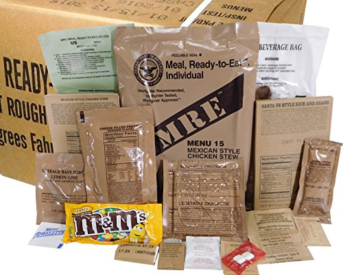 MREs (Meals Ready-to-Eat) Box B 55d09cb15