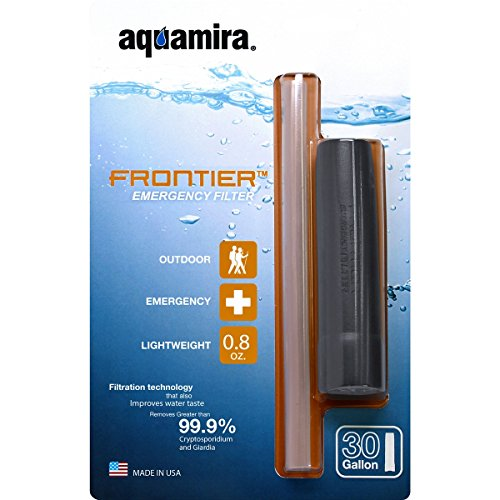 Aquamira Frontier Tactical Emergency Water Filtration and Straw ... d77ffed0050